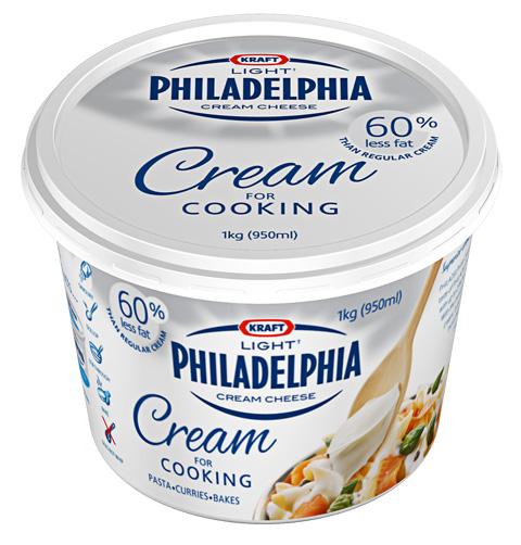 Philadelphia Light Cream For Cooking