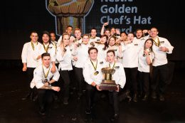 2018 Nestlé Golden Chef's Hat Award National Champions with medal winners