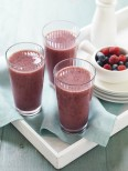 Non-dairy Berry Anitoxidant Smoothie