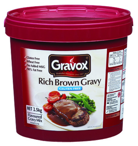 gravox gluten free gravies gravox gluten free gravy mixes have been ...