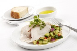 Turkey Half Breast with avocado