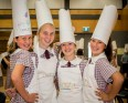 Students at St Thomas More Primary School celebrating International Chefs Day