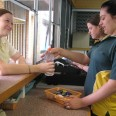 Students serve students in Leumeah's student run canteen