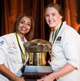 Team SA 2017 National Winners Mahlet Girma and Abbey Wendland