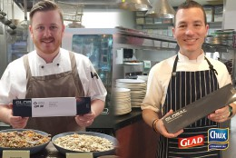 Winners_Capri by Frazer Head Chef (L), Ahmets Turkish Restaurant Head Chef (R)