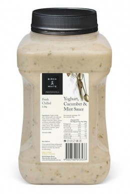 Yoghurt Cucumber & Mint Sauce 2.3kg-1
