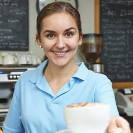 servingcoffee